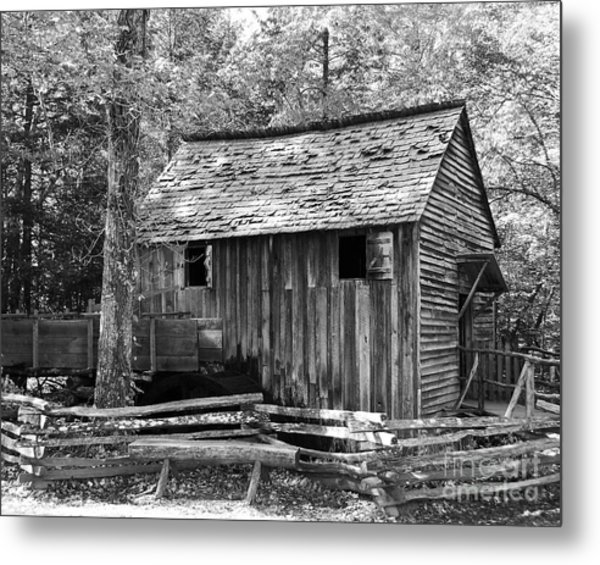 Cable Grist Mill 1 Metal Print by Mel Steinhauer