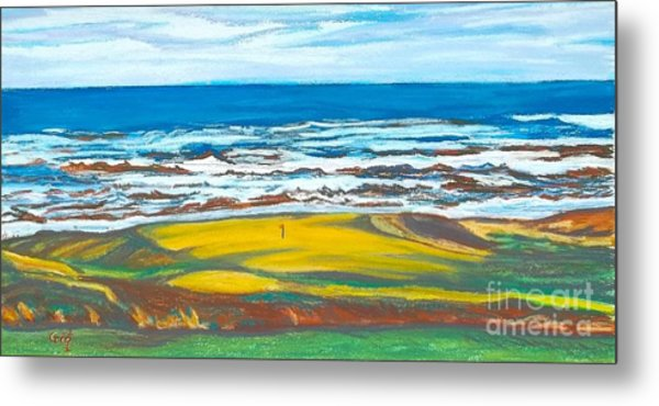 Cabot Links # 14 Metal Print by Frank Giordano