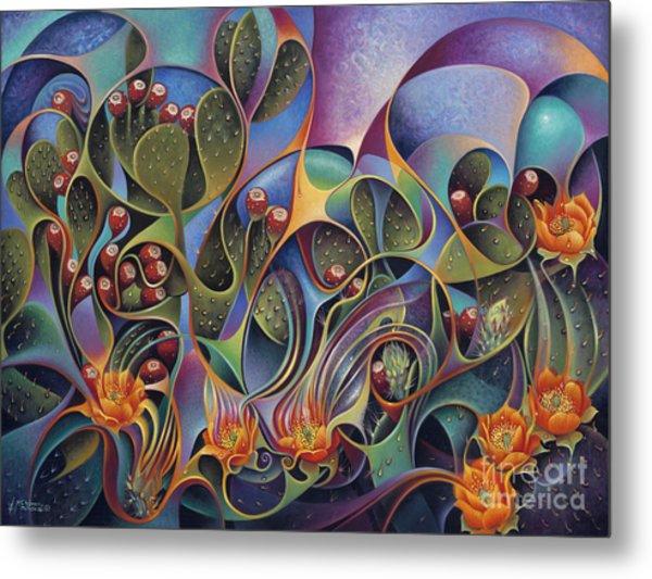 Cactus Dinamicus 3d Metal Print