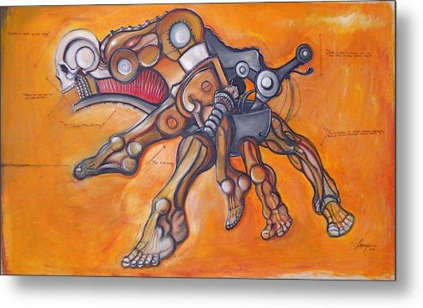Cadaver Feet Project Metal Print by Jose Gonzalez Lanza