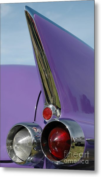 Caddy Shark Metal Print