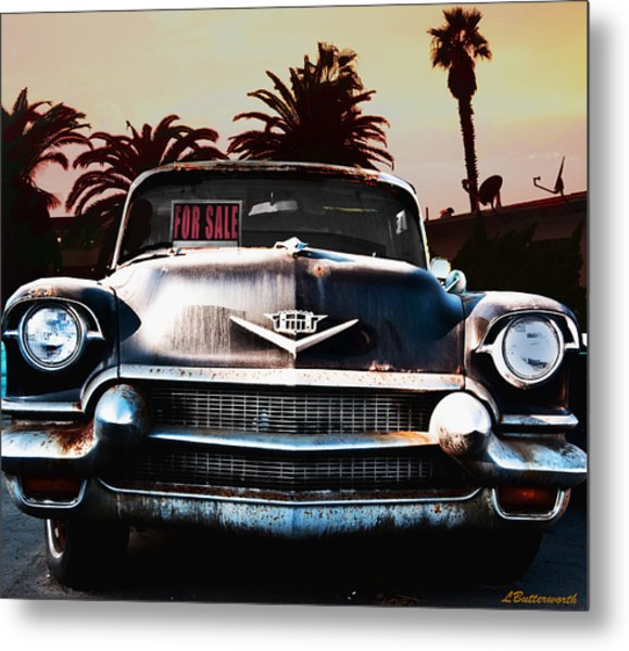 Cadillac Blues Metal Print by Larry Butterworth