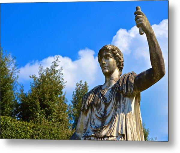 Caesar On Blue Sky Metal Print