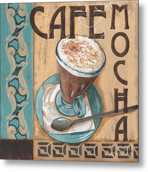 Cafe Nouveau 1 Metal Print