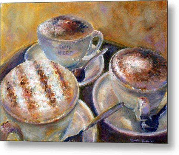 Caffe Nero Metal Print