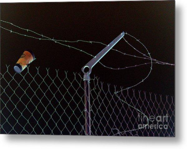 Caffeinated Jail Break Metal Print by Joe Jake Pratt