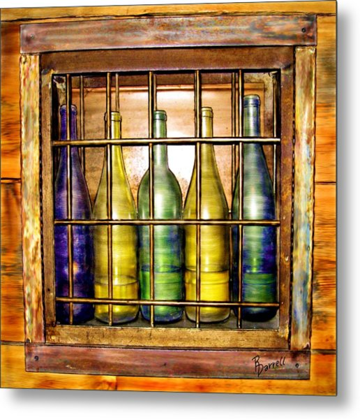 Caged Spirits Metal Print