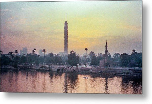 Cairo And The Nile Metal Print