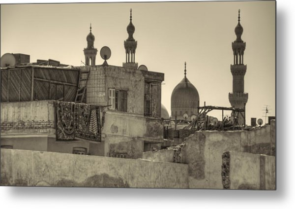 Cairo Skyline II Metal Print