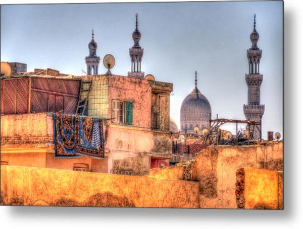 Cairo Skyline Metal Print