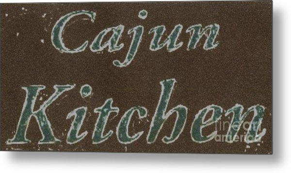 Cajun Kitchen Metal Print