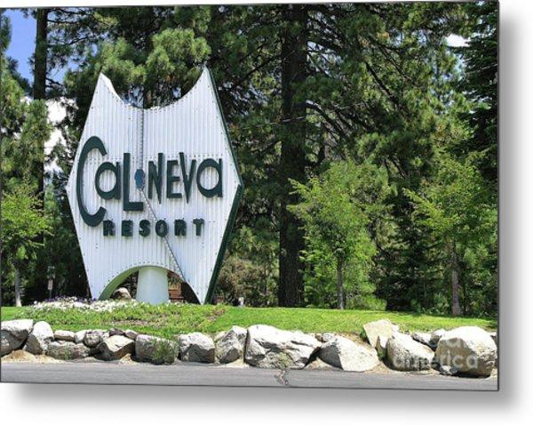 Cal Neva Resort - Lake Tahoe Metal Print