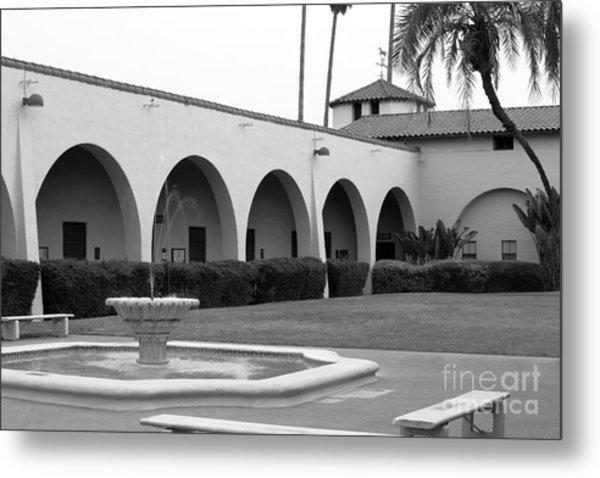 Cal Poly Pomona Union Plaza Metal Print by University Icons