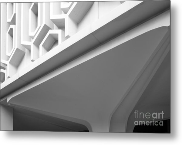 Cal State University Fullerton Pollak Library Metal Print by University Icons
