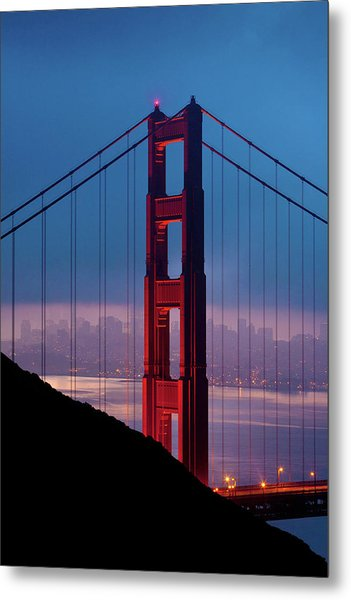 California A Top Global Tourist Metal Print by George Rose