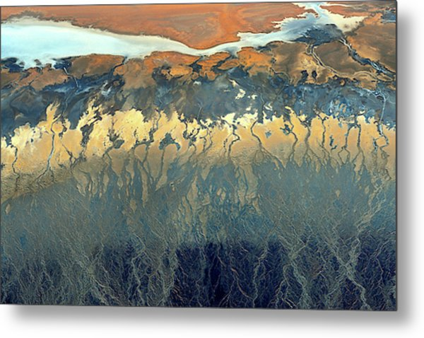 California Aerial Metal Print