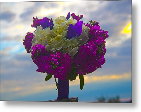 California Bouquet Metal Print