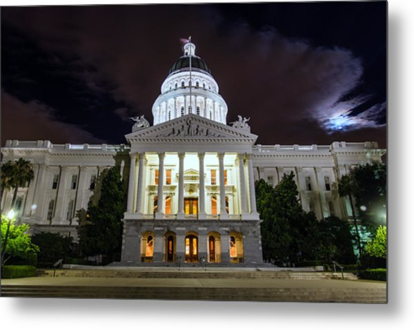 California Capitol Metal Print