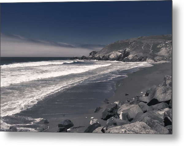 California Coastline Metal Print