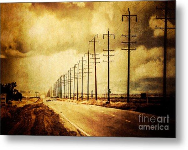 California Highway Metal Print by Pam Vick