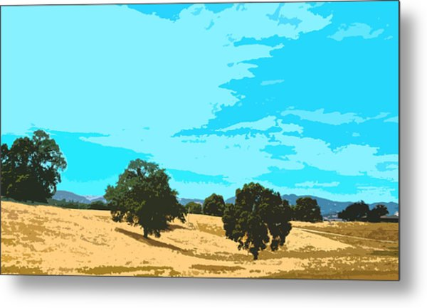 California Hills Metal Print