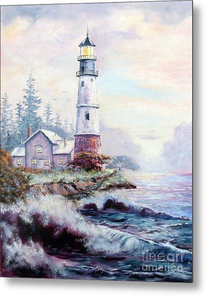 California Lighthouse Metal Print