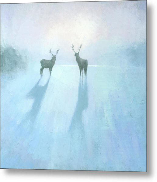 Call Of The Arctic Metal Print