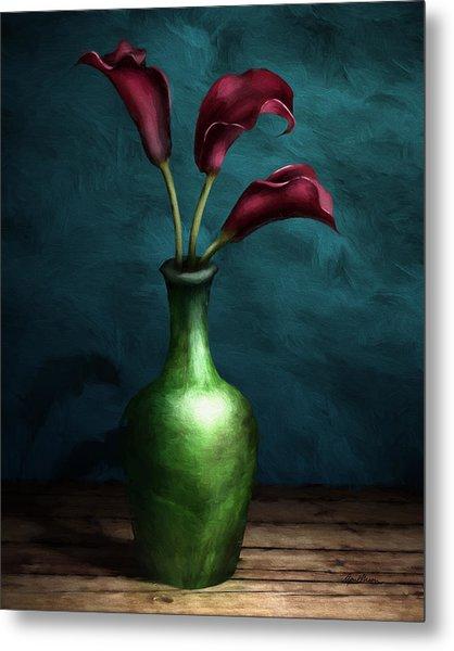Calla Lilies I Metal Print