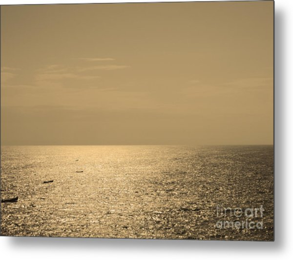 Calm Arabian Sea Metal Print