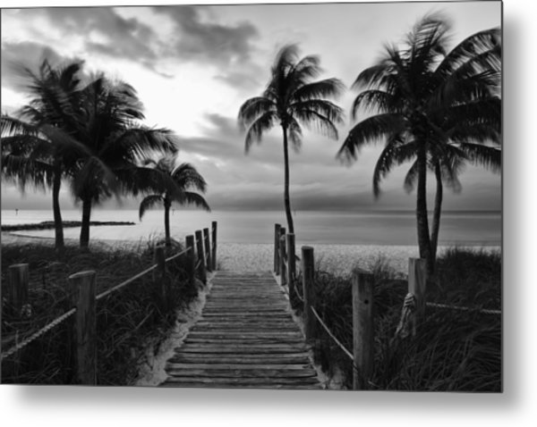 Calm Before Storm Metal Print