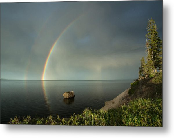 Calm Before The Storm Metal Print by Sandy Sisti