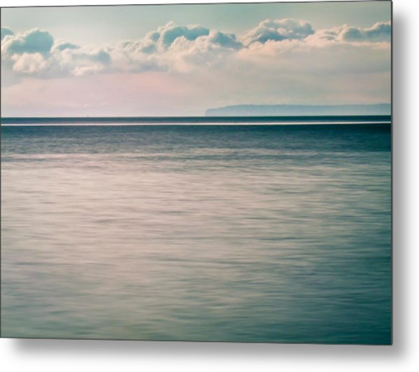 Calm Blue Ocean Metal Print