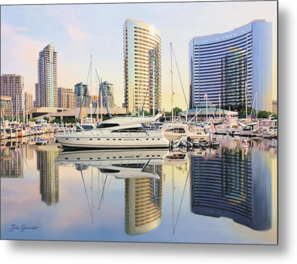 Calm Summer Morning Metal Print