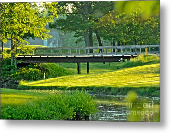 Calm Summer Night Metal Print