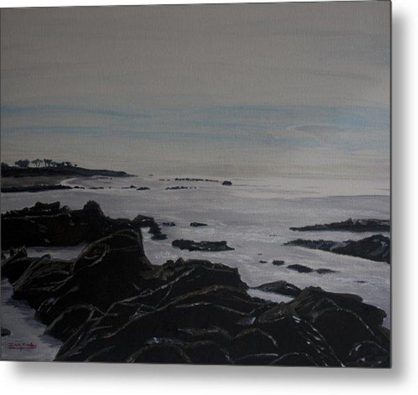 Cambria Tidal Pools Metal Print
