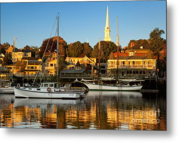 Metal Print featuring the photograph Camden Maine by Brian Jannsen