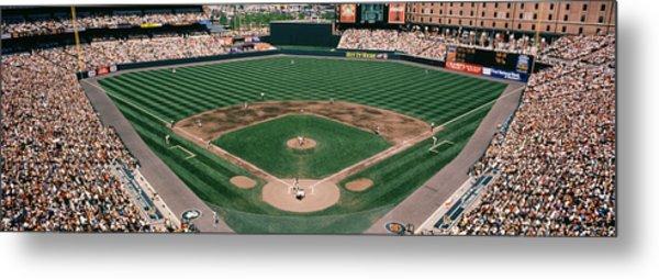 Camden Yards Baseball Field Baltimore Md Metal Print