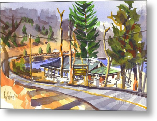 Camp Penuel At Lake Killarney Metal Print