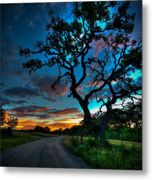 Camp Verde Sunrise Metal Print