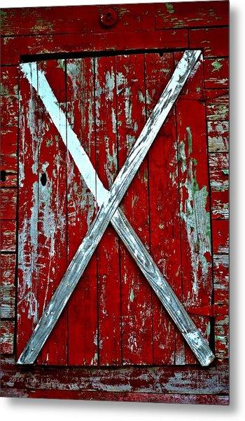 Camp Westminster Barn Metal Print