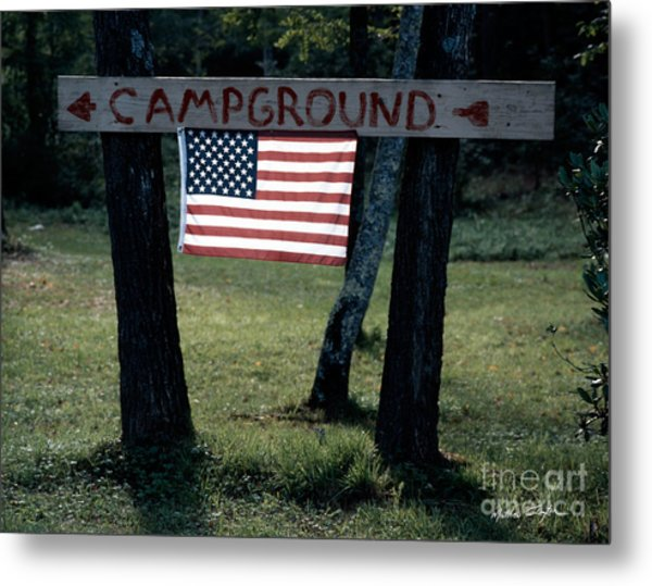 Campground 2003 Metal Print