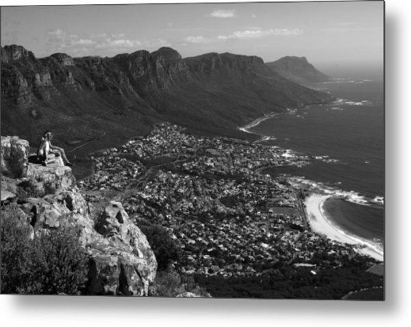 Camps Bay View Cape Town Metal Print