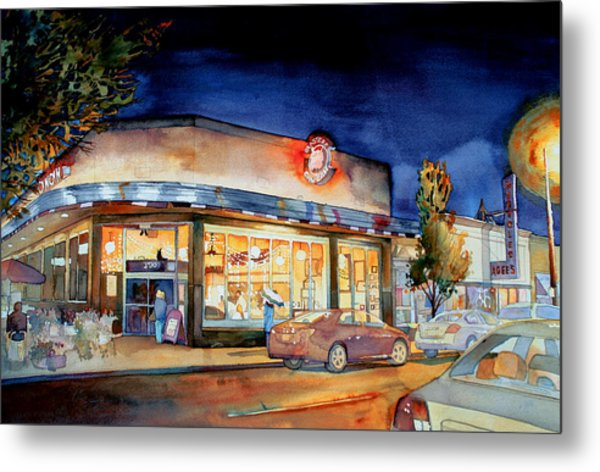 Can Can Carytown Metal Print by Jim Smither