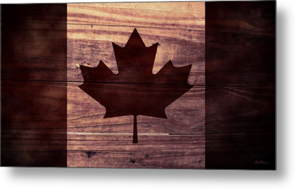 Canadian Flag I Metal Print