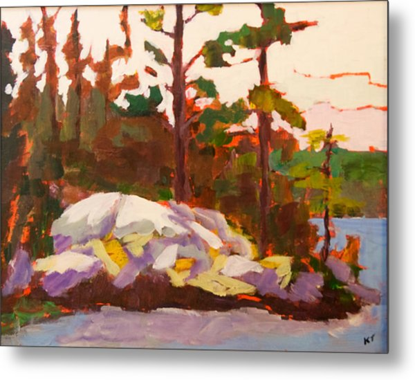 Canadian Shield Haliburton Metal Print by Keith Thirgood