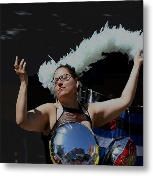Cancan Metal Print by Gregory Whiting