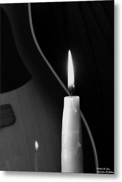 Candle Light Serenade Metal Print