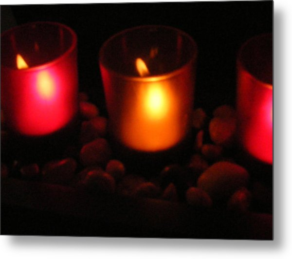 Candle Magick Metal Print