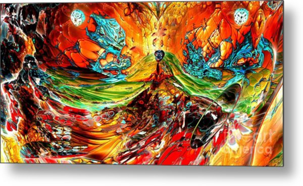 Candy Mountain 2 Metal Print by Bernard MICHEL