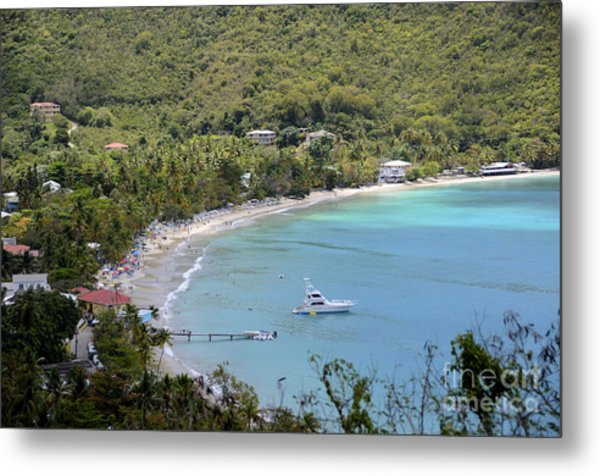 Cane Garden Bay Tortola Metal Print